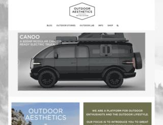 outdooraesthetics.org screenshot