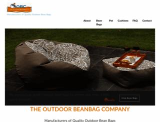 outdoorbeanbags.co.nz screenshot