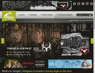 outdoorchannelshows.com screenshot