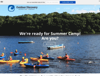 outdoordiscovery.ie screenshot