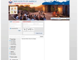 outdooreducationcenter.camp-master.com screenshot