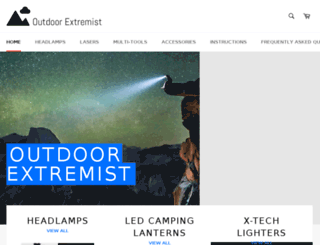 outdoorextremist.com screenshot