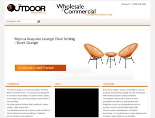 outdoorfurniturecompany.com.au screenshot