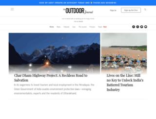 outdoorjournal.in screenshot