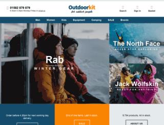 outdoorkit.co.uk screenshot