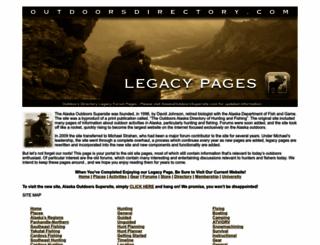 outdoorsdirectory.com screenshot