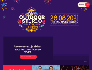 outdoorstereo.nl screenshot