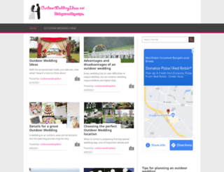outdoorweddingideas.net screenshot