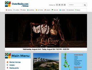 outerbanks.com screenshot