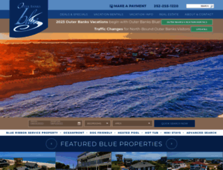 outerbanksblue.com screenshot