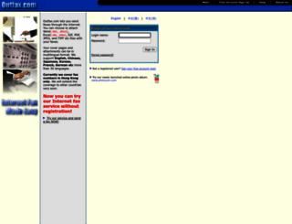 outfax.com screenshot