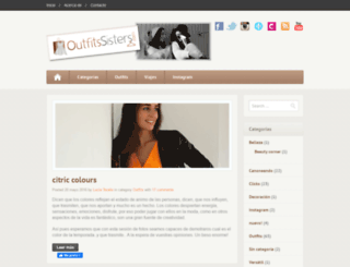 outfitssisters.com screenshot