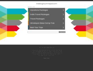 outfitternepaltrek.com.np screenshot