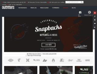 outfitters.com.br screenshot