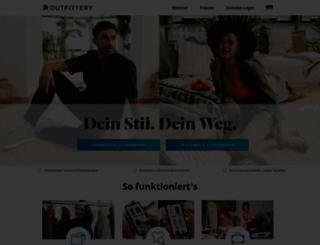 outfittery.de screenshot