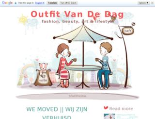 outfitvandedag.blogspot.be screenshot