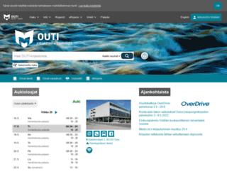 outikirjastot.fi screenshot