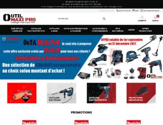 outil-maxi-pro.com screenshot