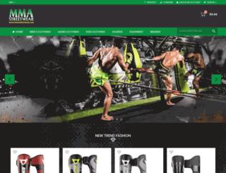 outlawfightwear.com screenshot