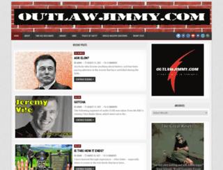 outlawjimmy.com screenshot