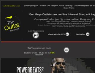 outlet-brandstore.com screenshot
