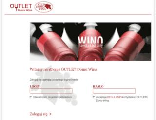 outlet.domwina.pl screenshot