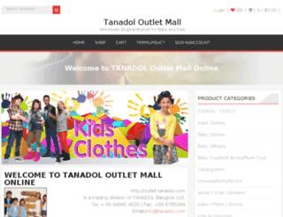 outlet.tanadol.com screenshot