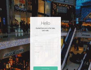 outletclub.com screenshot