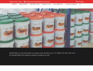 outletdepinturas.com.mx screenshot