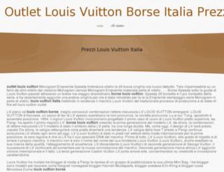 outletlouisvuittonborseitalia.webs.com screenshot