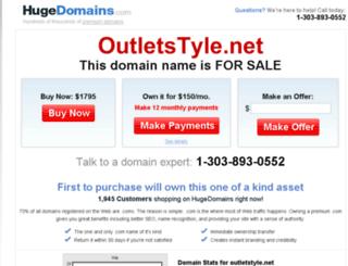 outletstyle.net screenshot