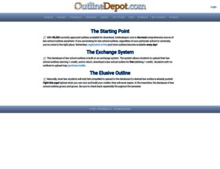 outlinedepot.com screenshot