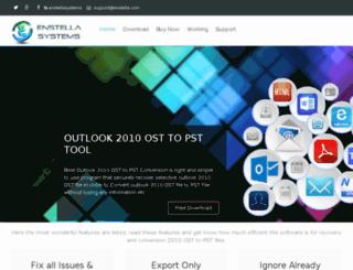 outlook2010.osttopstconversion.info screenshot