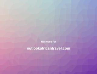 outlookafricantravel.com screenshot