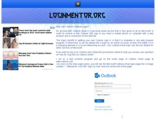 outlookemail.loginssupport.org screenshot