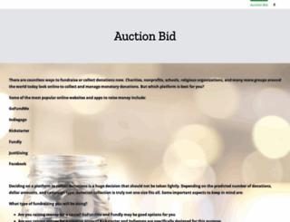 outofgutters2015.auction-bid.org screenshot