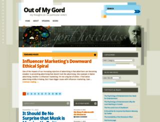 outofmygord.com screenshot