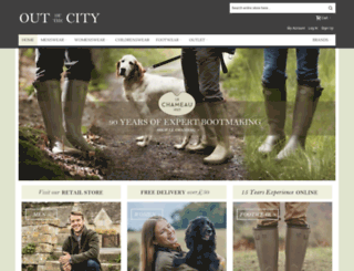 outofthecity.co.uk screenshot