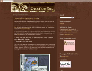 outoftheeast.blogspot.com screenshot