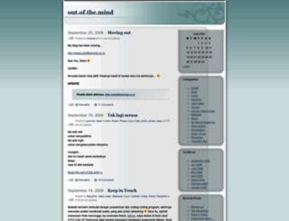 outofthemind.wordpress.com screenshot
