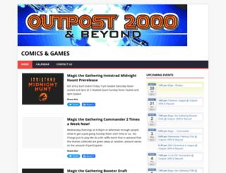 outpost2000.com screenshot