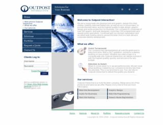 outpostinteractive.com screenshot