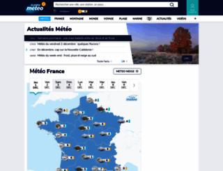 outremer.lachainemeteo.com screenshot