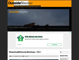 outsideslacker.com screenshot