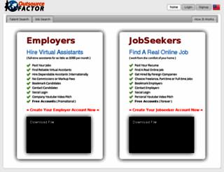 outsourcefactor.com screenshot