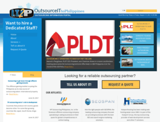 outsourceit2philippines.com screenshot