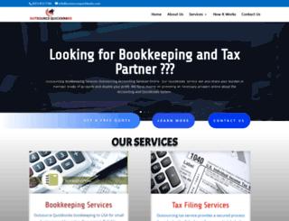 outsourcequickbooks.com screenshot