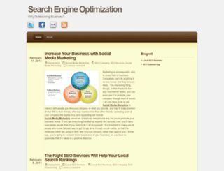 outsourcesearchengineoptimization.wordpress.com screenshot
