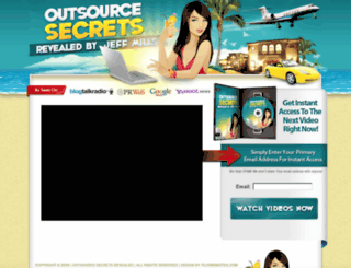 outsourcesecretsrevealed.com screenshot