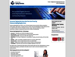 outsourcingtypingservices.com screenshot